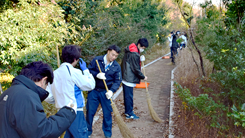 Staff participating in clean-up activities.jpg