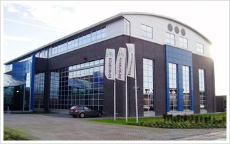 ヤクルト本社ヨーロッパ研究所サイエンスパーク内バイオインキュベーター外観 ヤクルト本社ヨーロッパ